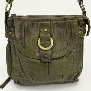 Great American Leather Works Olive Green Purse